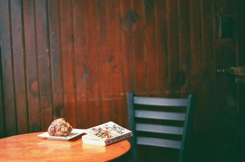 Film Roll Photo Diary (Spring at Soltane Cafe)