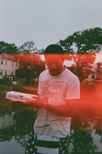 Lover with pizza